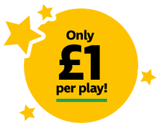Only £1 per play